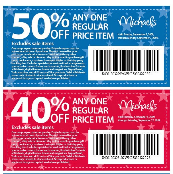 Craft Warehouse Coupons May